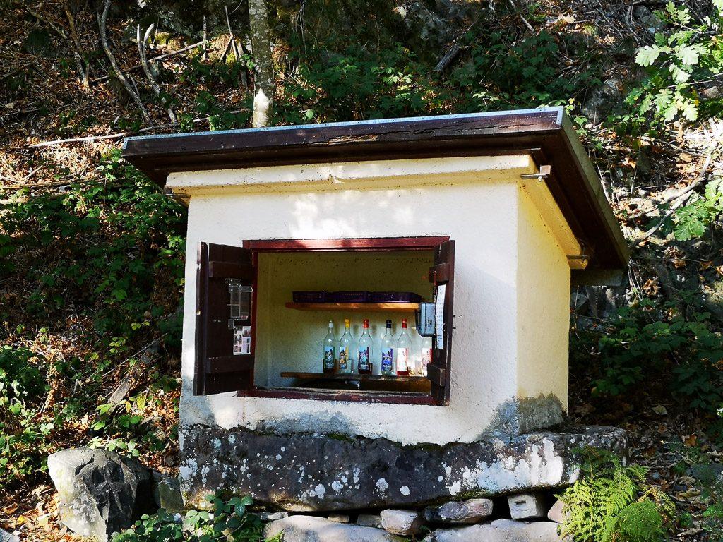 Schnapsbrunnen im Gottschlägtal