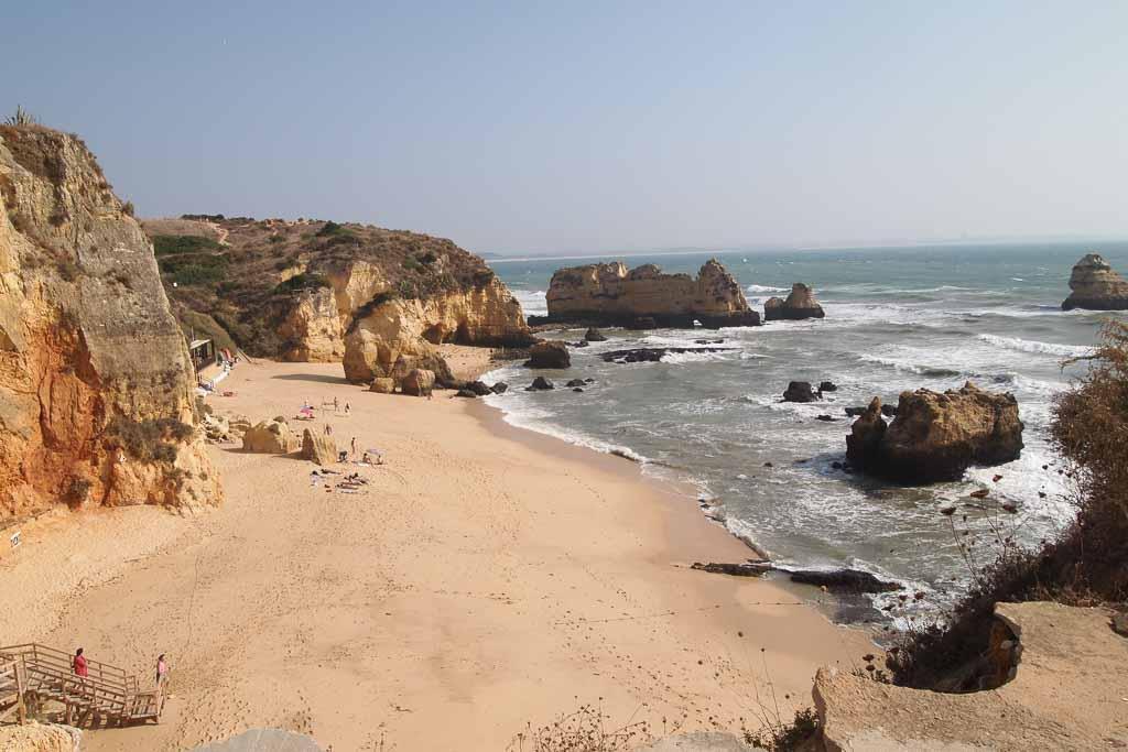 Praia da Rocha an der südlichen Algarve