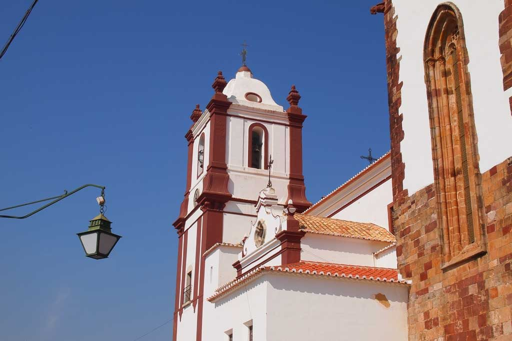 Kirche in Silves, Algarve Portugal