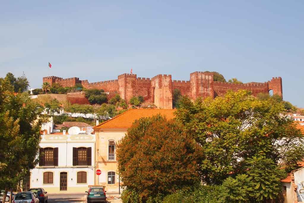 Die Burg von Silves, Algarve Portugal