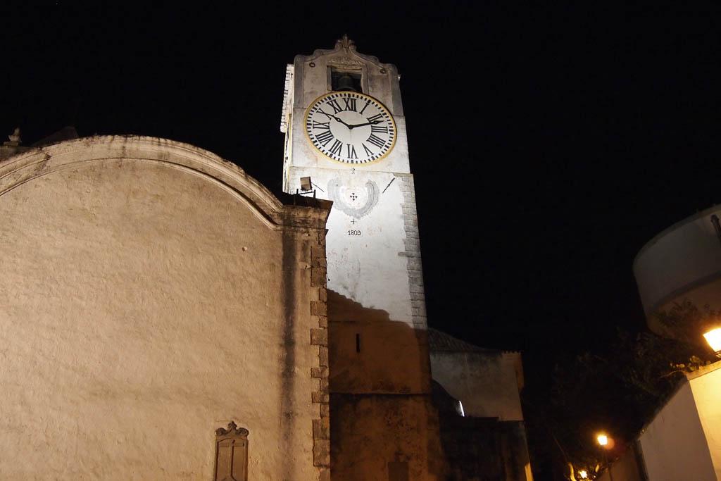 Kirchturm bei Nacht - Algarve