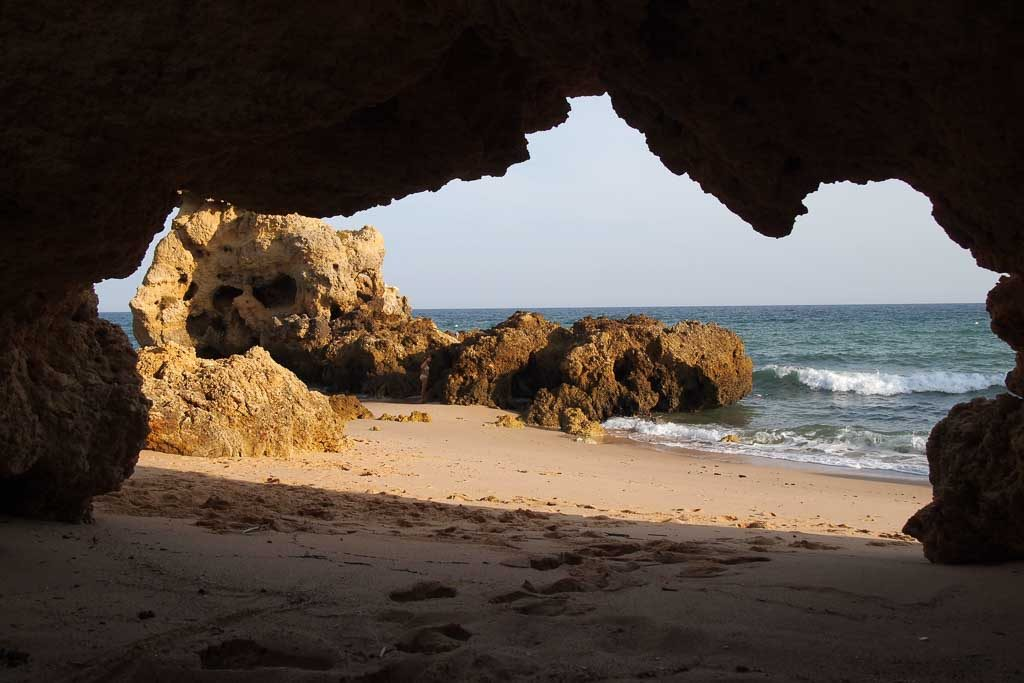Praia com Bandeira Azul bei Albufeira