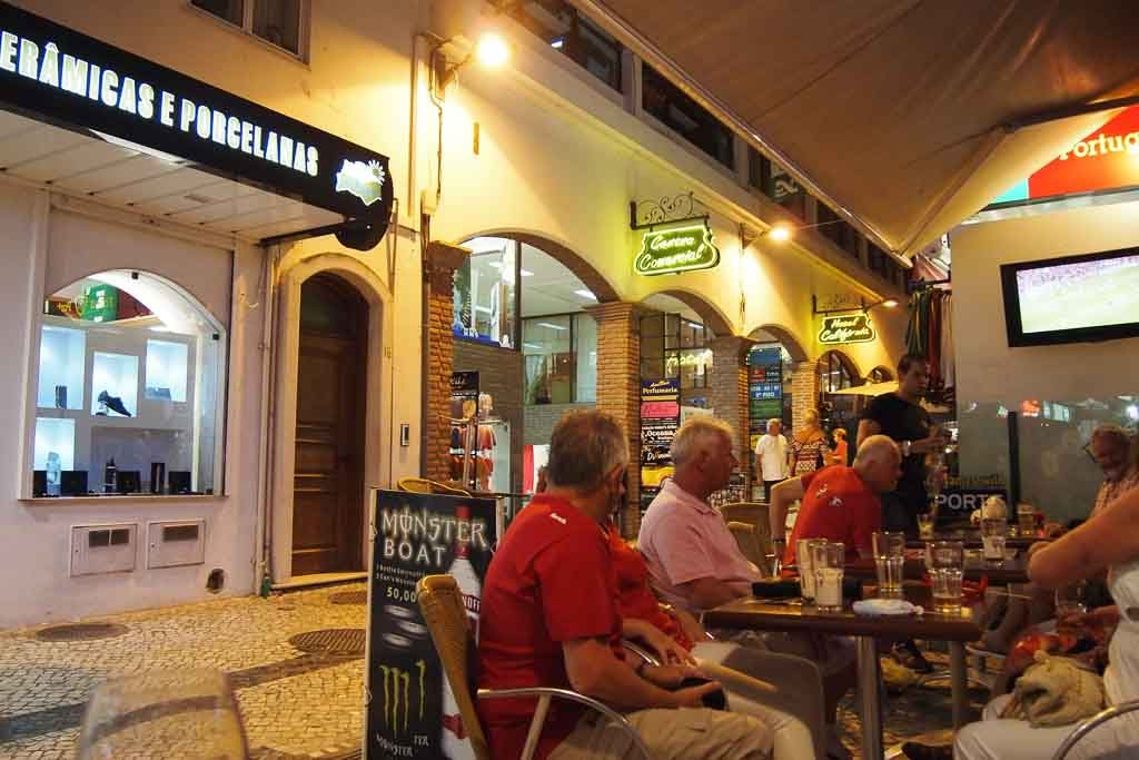 Cafe in Albufeira - Portugal, Algarve