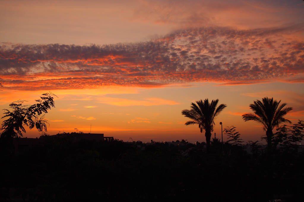 Sonnenuntergang in Albufeira - Algarve