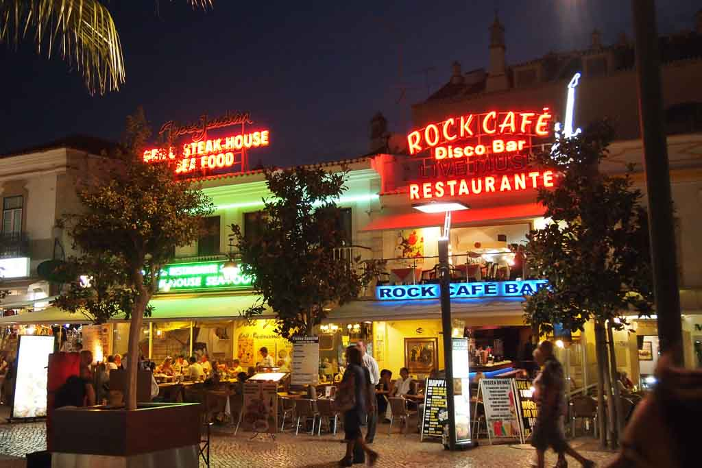 Nightlife in Albufeira - Portugal