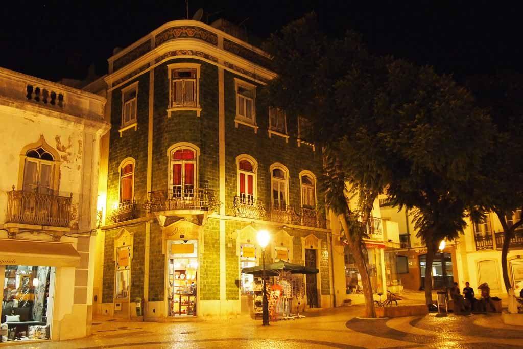 Haus mit Azulejos in Lagos, Algarve