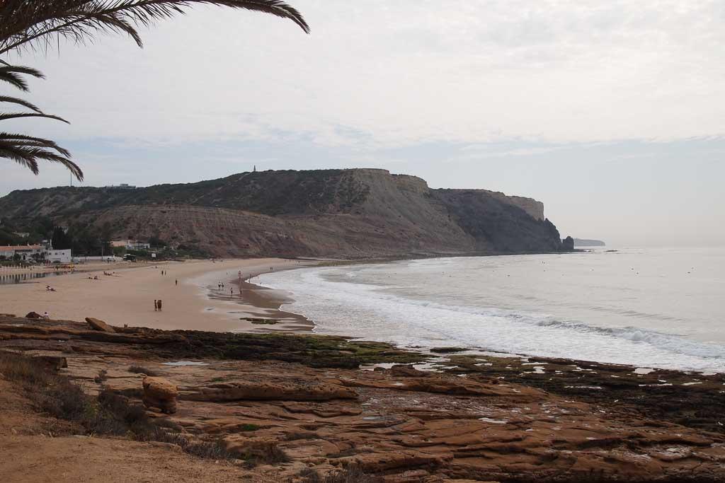 Praia da Luz an der Algarve