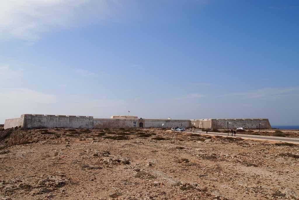 Fortaleza de Sagres an der Algarve
