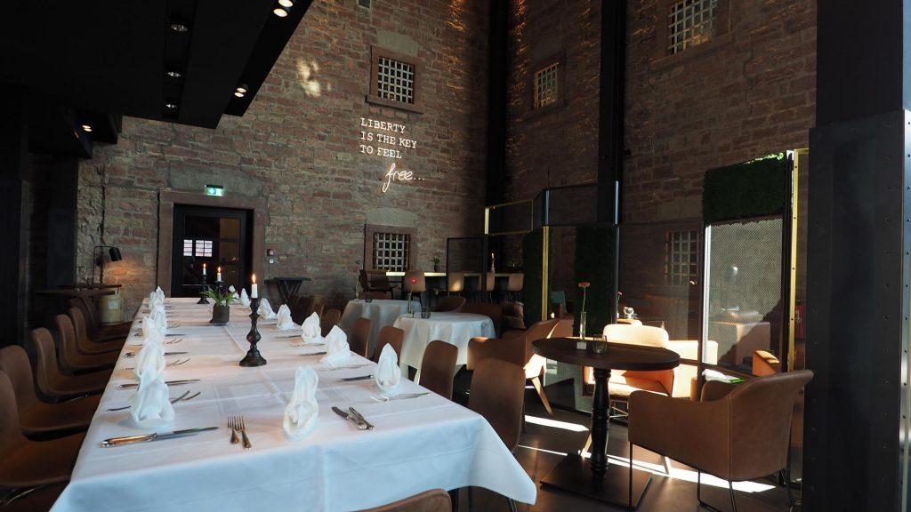 Restaurant im Hotel Liberty in Offenburg