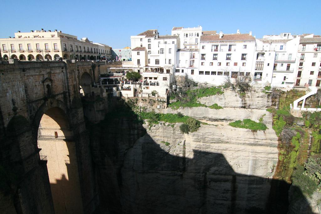 Die Brücke in Ronda-Andalusien