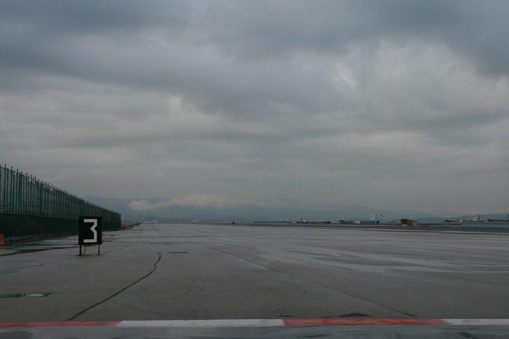 Flugfeld in Gibraltar