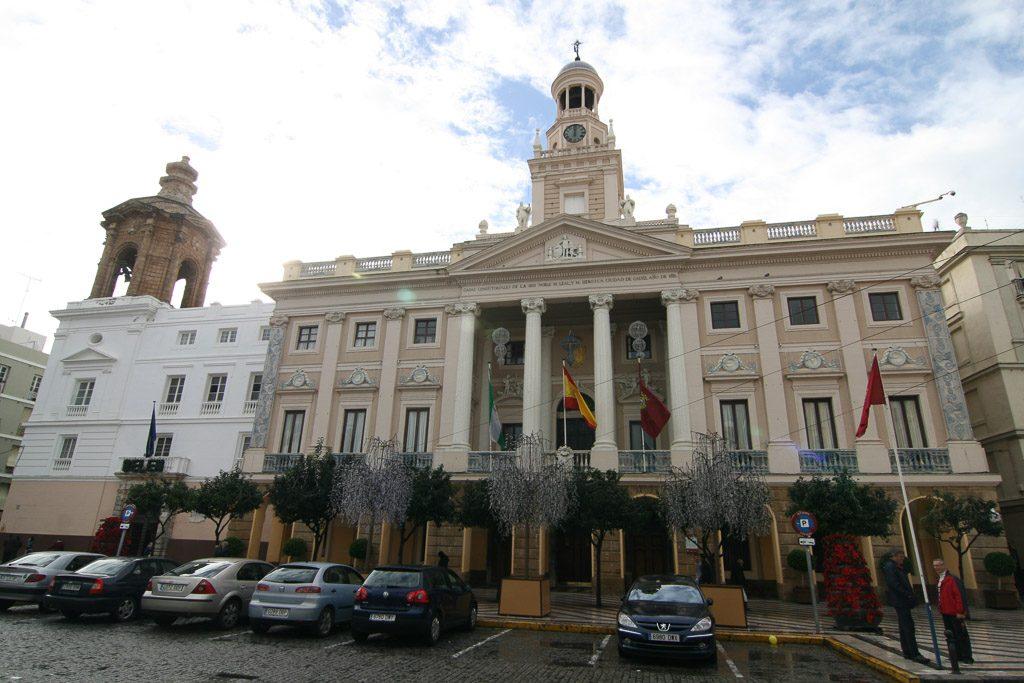 Rathaus von Cádiz in Andalusien