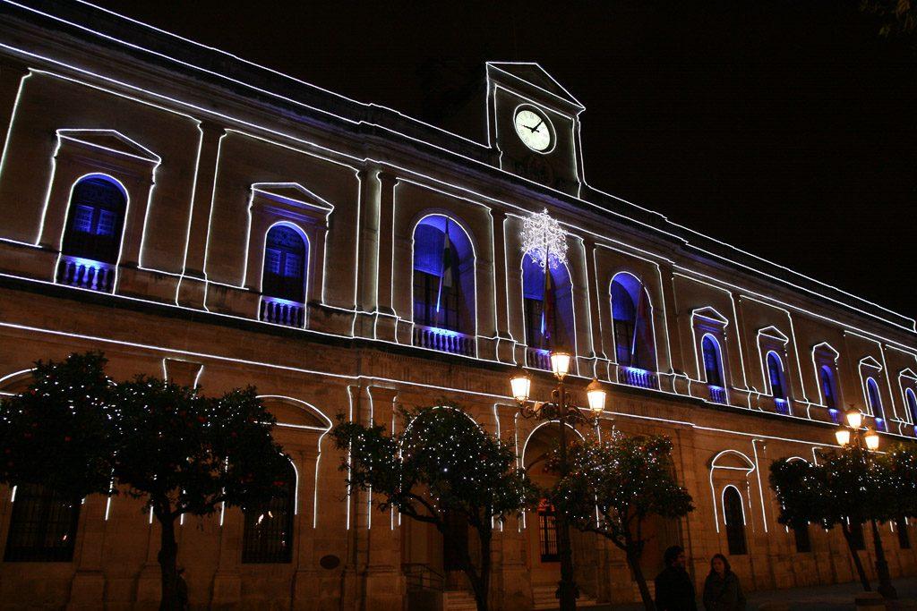Rathaus am Plaza Nuevo in Sevilla
