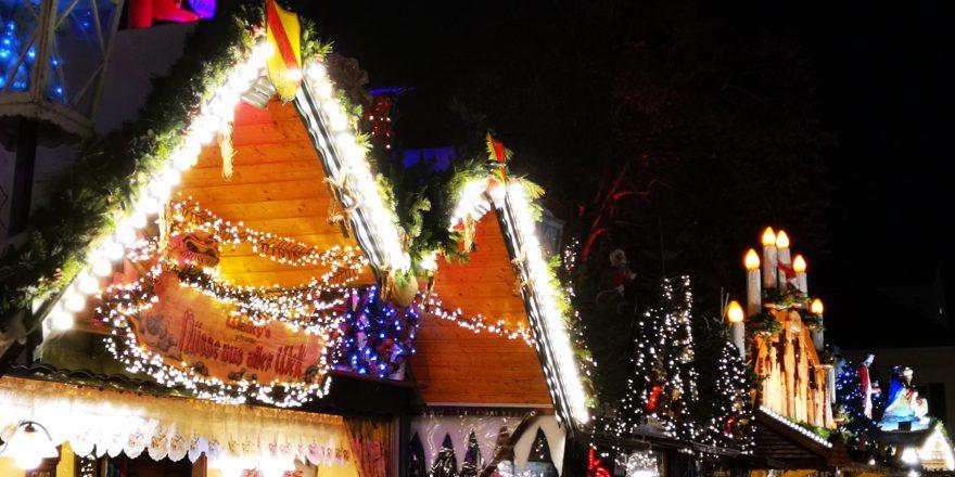 Impression Weihnachtsmarkt Karlsruhe