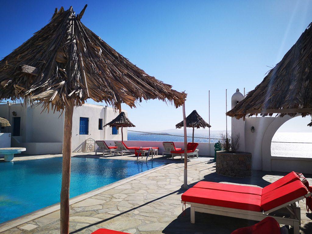 Dachpool des Aegean Hotel