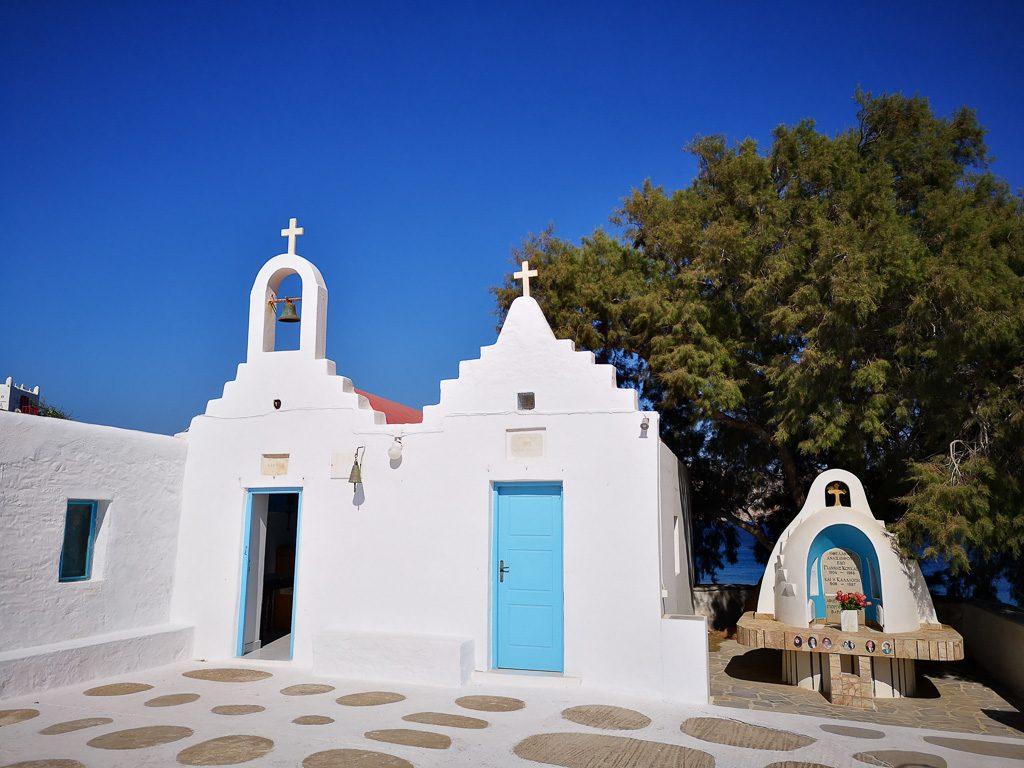 Kirche in Sostis - Mykonos