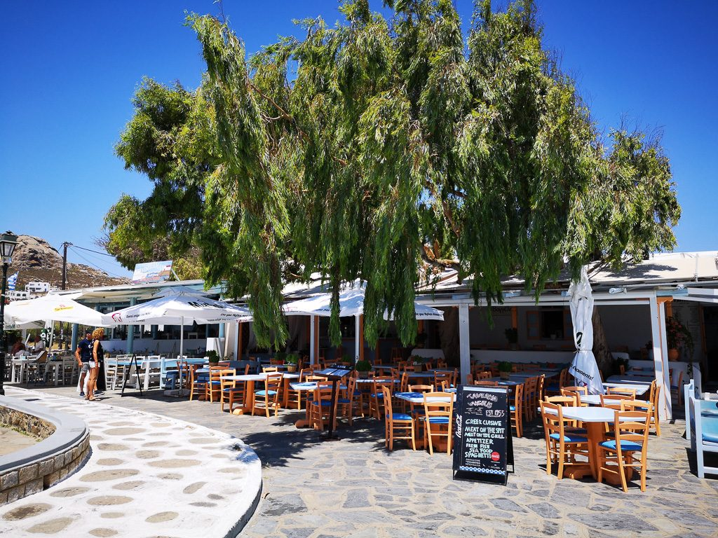 Taverna Vangelis in Ano Mera - Mykonos