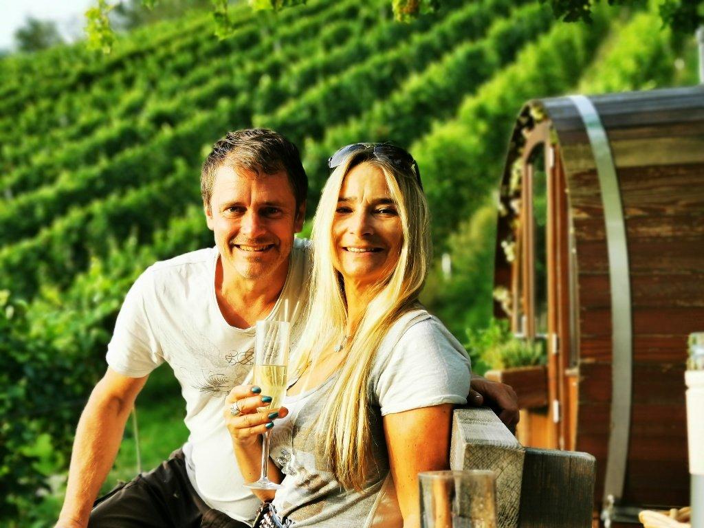 Daniela und Thomas Lechler in Sasbachwalden