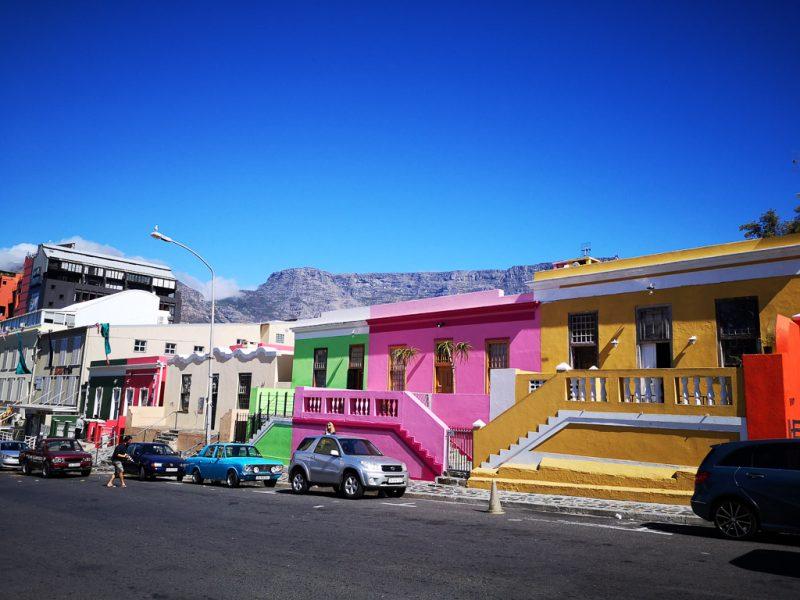 bunte Häuser in Bo-Kaap - Cape Town/Kapstadt - ein Bericht im Reiseblog von Thomas Lechler