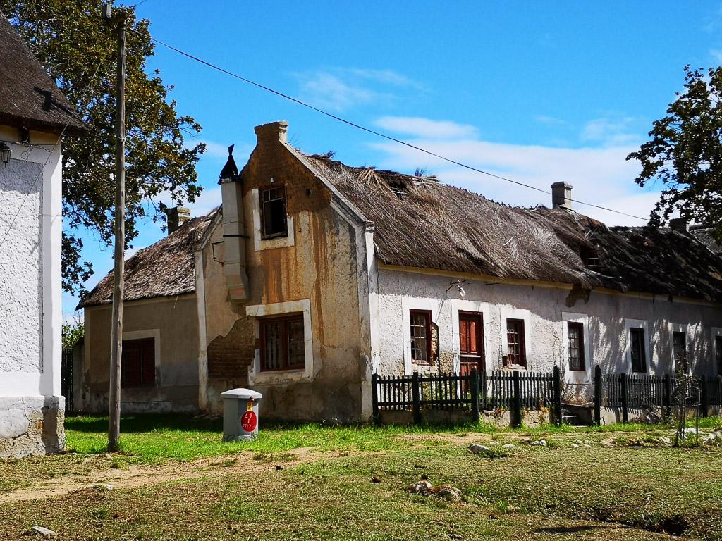Reetgedecktes Haus in Elim