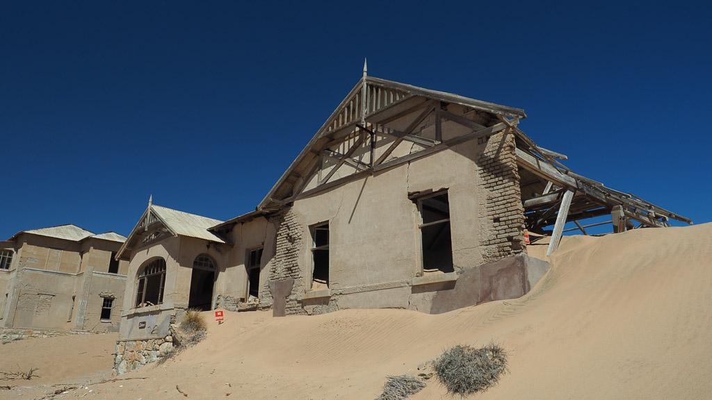 Ruine im Sand in Kolmannkuppe