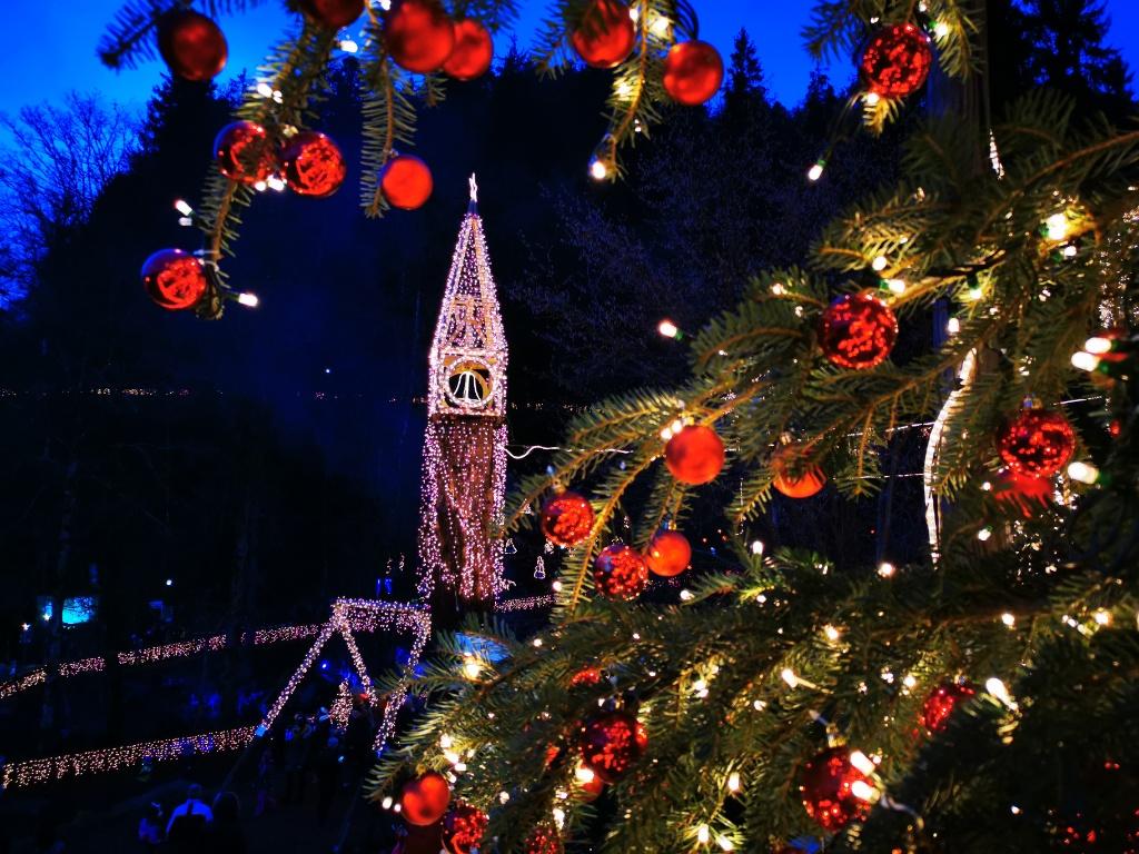 Foto vom Weihnachtsmarkt in Triberg