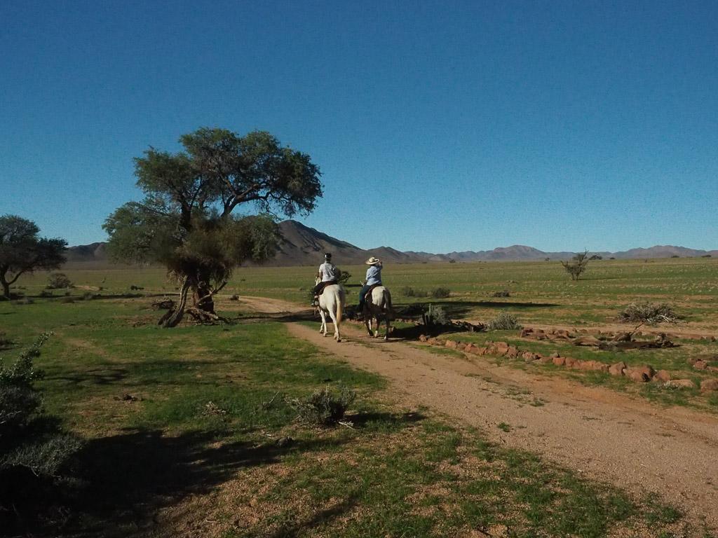 Reiten im Tiras Gebirge - Namibia