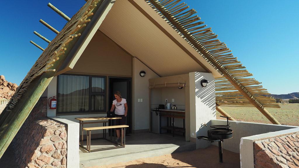 Lodge im Desert Quiver Camp