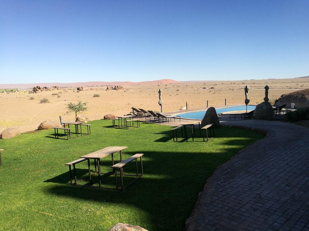 Foto: Pool im Desert Cuiver Camp