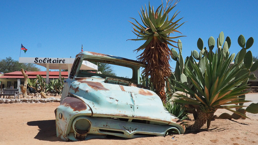 Foto: Oldtimer in Solitaire Namibia