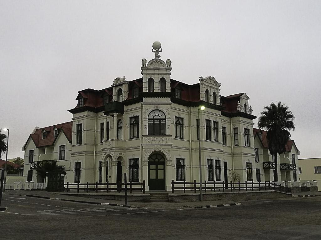 Kolonialgebäude in Swakopmund