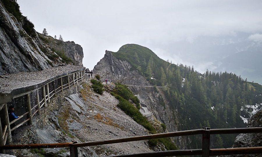 Aufstieg zur Eisriesenwelt in Österreich - Tirol