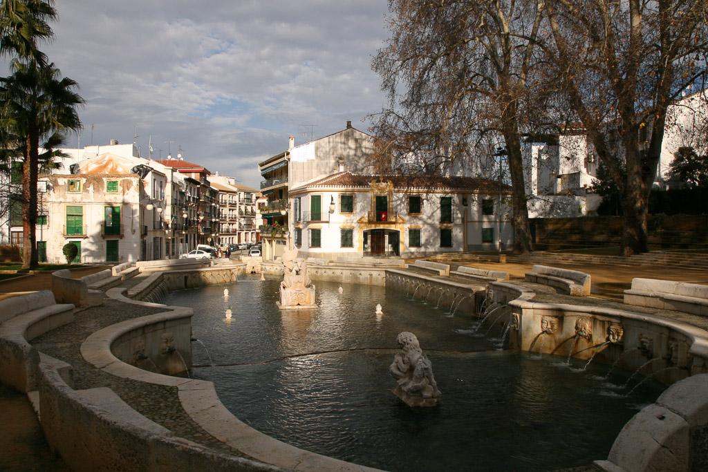 Fuente del Rey in Priego - Spanien, Andalusien.