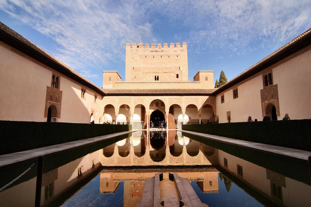 Brunnen in der Alhambra - Malaga