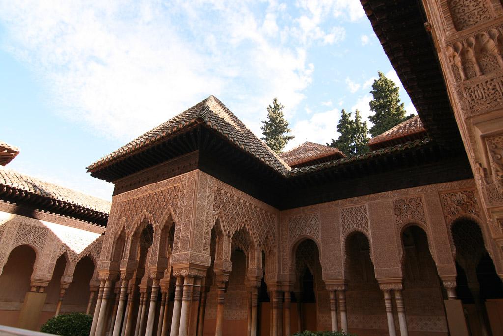 Gebäude in der Alhambra - Malaga