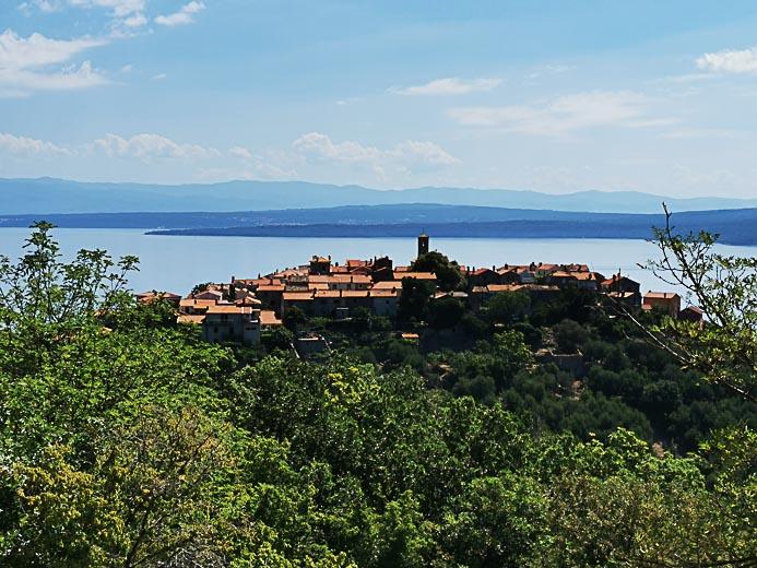Beli auf der Insel Cres in Kroatien