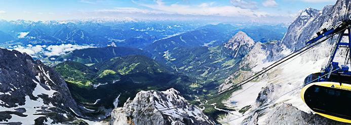 Panorama vom Dachstein