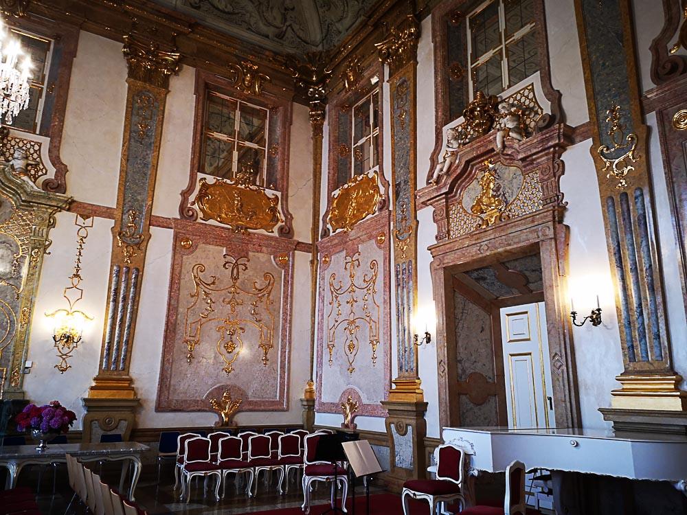 Schloss Mirabell - der Marmorsaal