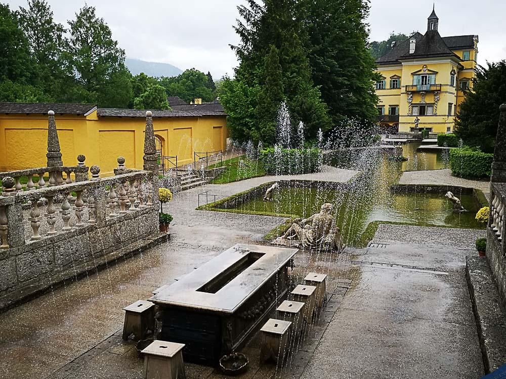 Wasserspiele im Schloss Hellbrunn - Salzburg