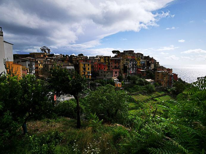 Der Ort Corniglia in Cinque Terre - Toskana