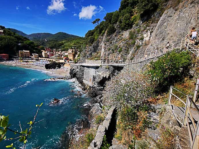 Der Ort Monterosso Al Mare in Cinque Terre - Toskana