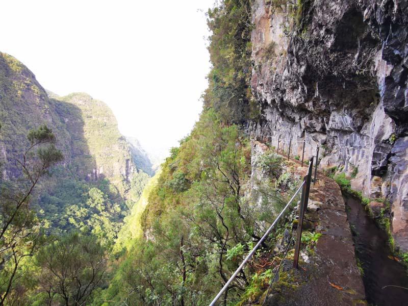 Levada Caldeirao Verde auf Madeira