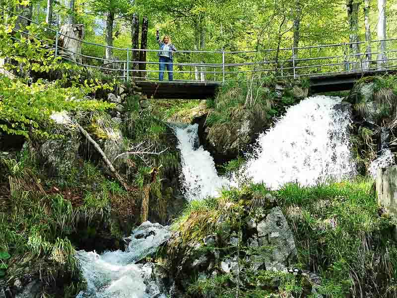 Der Fahler Wasserfall am Feldberg