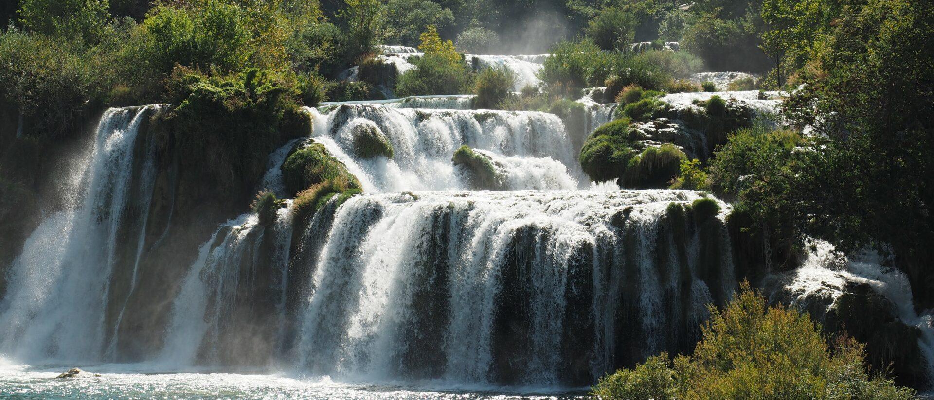 Krka Wasserfälle in Kroatien
