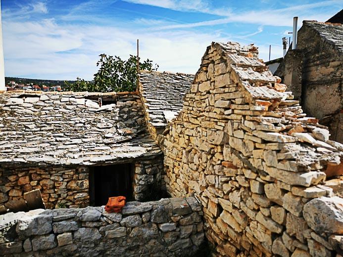 Primosten - Kroatien Altes Steinhaus