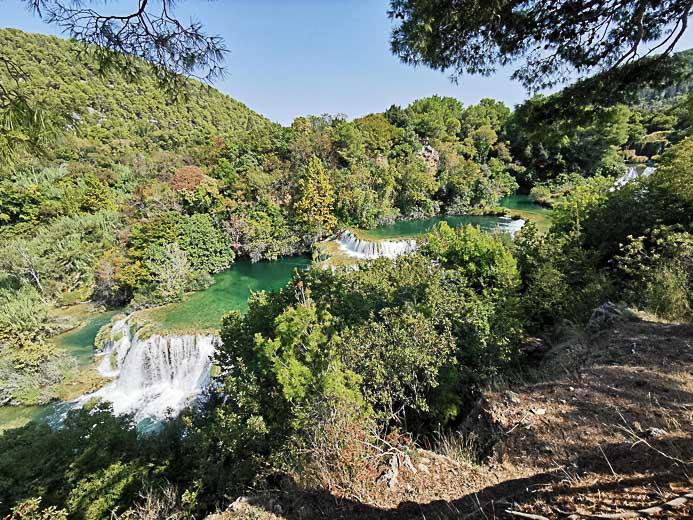 Manojlovacer Wasserfall - Krka