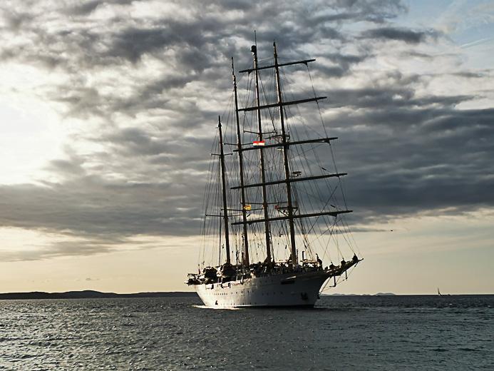 Sea Cloud in Zadar