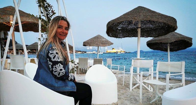 Beach Bar in Golfo Aranchi auf Sardinien