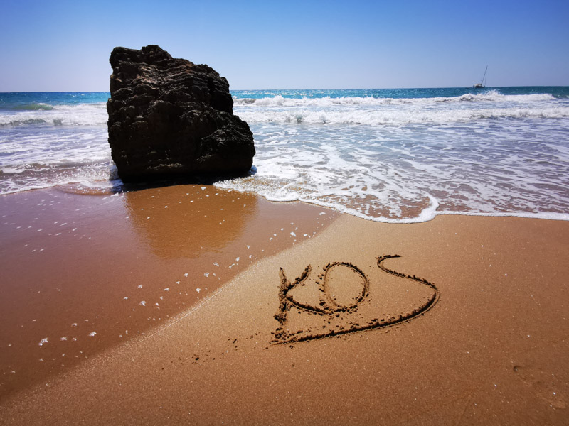 Paradise Beach auf der Insel Kos