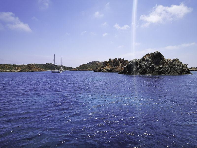 Die Cala Lunga im Naturschutzgebiet - Segeltörn Sardinien